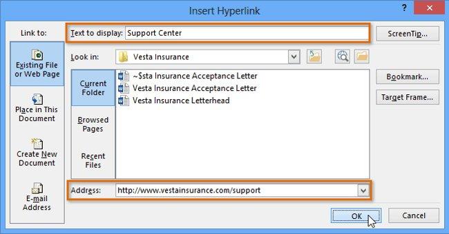 Hướng dẫn toàn tập Word 2013 (Phần 11):Cách tạo liên kết Hyperlink
