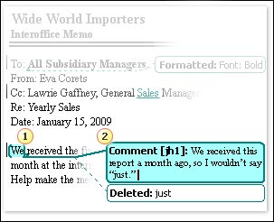 Chức năng Tracks Change, Comments trong Microsoft Word