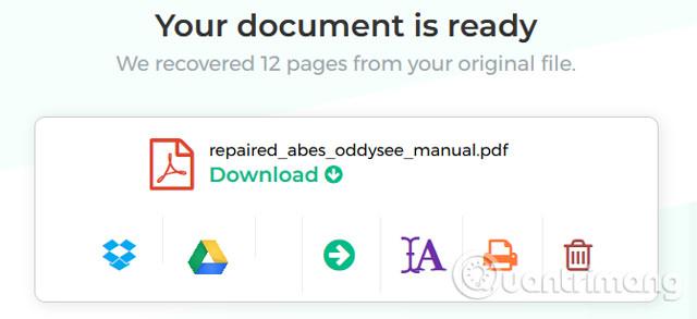 Cách sửa chữa hoặc khôi phục file PDF bị hỏng
