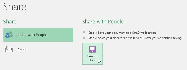 Hướng dẫn toàn tập Excel 2016 (Phần 4): Cách lưu trữ và chia sẻ bảng tính