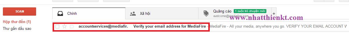 Đăng ký tài khoản Mediafire miễn phí upload, download dữ liệu