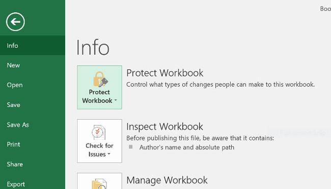 Cách đặt mật khẩu Excel để bảo vệ an toàn filedữ liệu