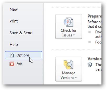 Tắt bỏ chế độ Mini Toolbar và Live Preview trong Word 2007 hoặc 2010