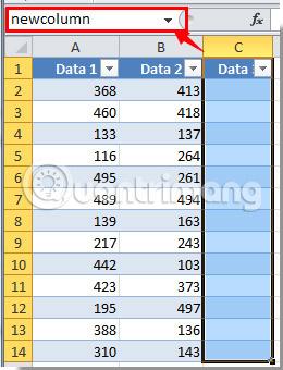 Cách nhập một văn bản vào nhiều ô Excel cùng một lúc