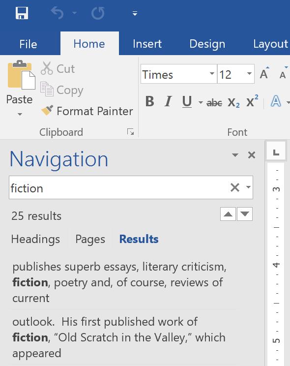 Hướng dẫn toàn tập Word 2016 (Phần 5): Sử dụng Find và Replace