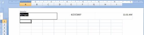 MS Excel 2007 - Bài 13: Định dạng trang tính và in