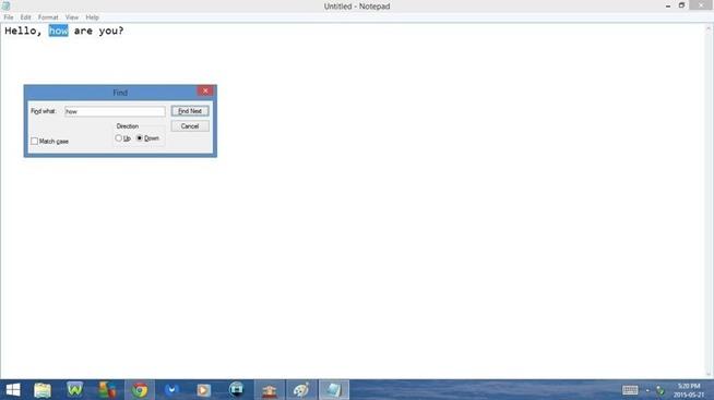 Tổng hợp phím tắt hữu ích khi sử dụng Notepad