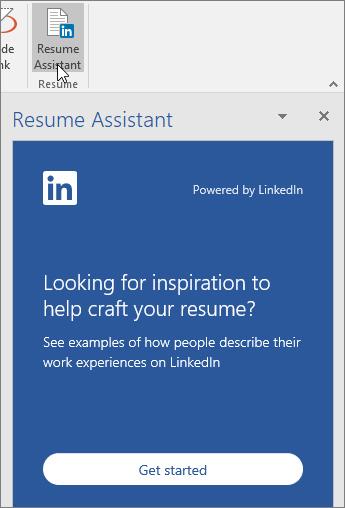 Viết CV chuyên nghiệp hơn với tính năng Resume Assistant mới của Linkedln