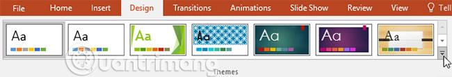 Thông tin cơ bản về slide trong PowerPoint 2016