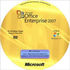 Bộ Office 2007 có key bản quyền suốt đời