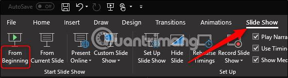 Cách tạm dừng âm thanh trong bài thuyết trình PowerPoint