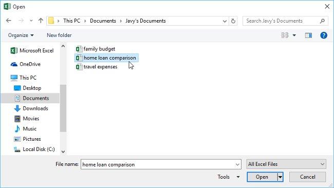 Hướng dẫn toàn tập Excel 2016 (Phần 3): Cách tạo mới và mở bảng tính có sẵn