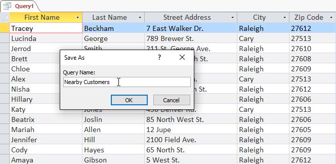 Tạo truy vấn dữ liệu trong Access 2016 từ đơn giản đến phức tạp