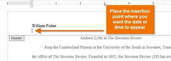 Hướng dẫn toàn tập Word 2013 (Phần 14): Tiêu đề trang, chân trang và đánh số trang