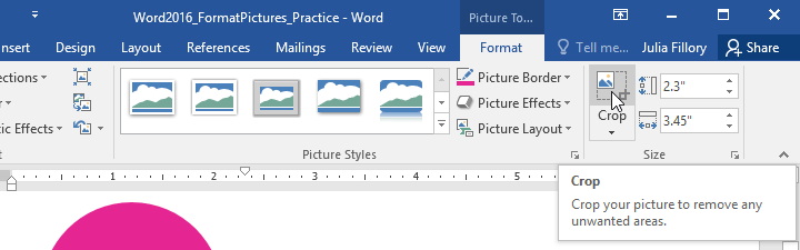 Hướng dẫn toàn tập Word 2016 (Phần 17): Chỉnh sửa ảnh trong Word 2016 chuyên nghiệp hơn