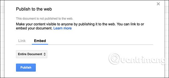 5 tính năng Google Sheets bạn nên biết