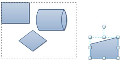 Gán thêm Structure vào Diagram trong Visio 2010 sử dụng Container