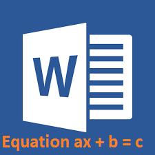 Cách gõ công thức toán học trong Word 2007 2010 2013 2016