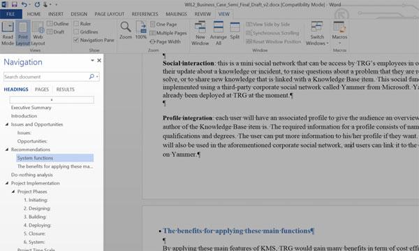 10 tính năng trong Word 2013 giúp làm việc nhanh, dễ dàng hơn